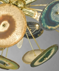 Gaublio formos šviestuvas su agatu Dar ACHATES