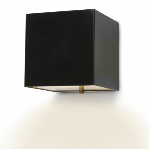 Sieninis kvadrato formos šviestuvas Dar BACCHUS