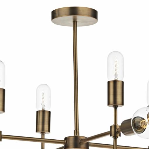 Pakabinamas šviestuvas su 12 lempučių Dar CODE