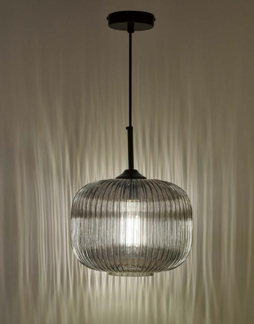 Gaublio formos šviestuvas su stikliniu gaubtu Dar DEMARIUS