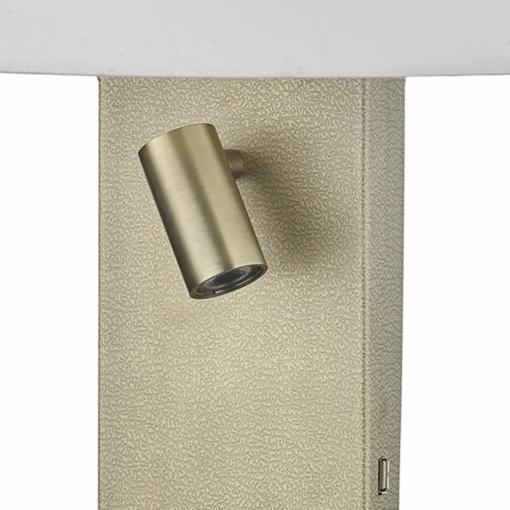 Sieninis šviestuvas nelygios tekstūros korpusu Dar DILLON