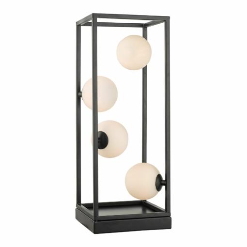 Stalo šviestuvas su opalinio stiklo gaubtais Dar ENSIO