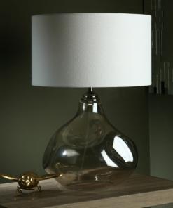 Stalo šviestuvas su nelygaus stiklo korpusu Dar ESAROSA