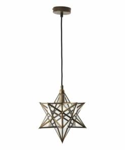 Pakabinamas žvaigždės formos šviestuvas Dar ILARIO