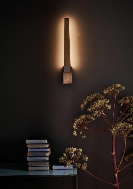 Modernus sieninis šviestuvas Dar ROTOR