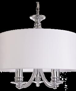 Pakabinamas penkiu lempučių šviestuvas Cosmolight Abu DHABI