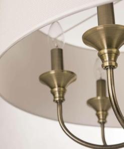 Pakabinamas šešių lempučių šviestuvas Cosmolight ABU DHABI