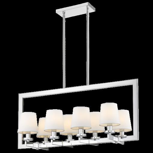 Aštuonių lempučių pakabinamas šviestuvas Cosmolight LONDON