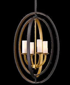 Modernus keturių lempučių šviestuvas Cosmolight DENVER