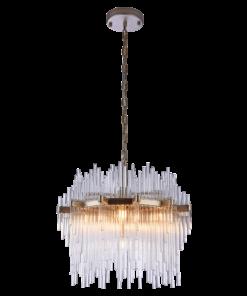 Sietynas su stiklinėmis dekoracijomis Cosmolight REYKJAVIK