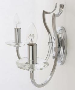 Sieninis dviejų lempučių šviestuvas Cosmolight RIGA