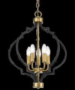 Šviestuvas su aukso spalvos dekoracijomis Cosmolight NASHVILLE