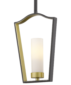 Pakabinamas vienos lemputės šviestuvas Cosmolight DUBLIN