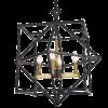 Pakabinamas geometrinių formų šviestuvas Cosmolight NASHVILLE