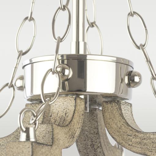 Pakabinamas keturių lempučių šviestuvas Cosmolight PORTLAND