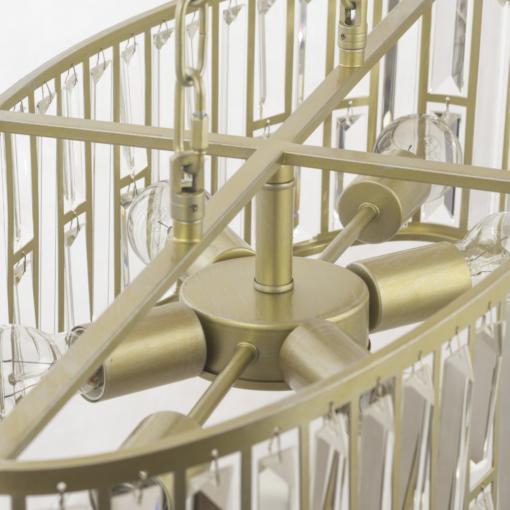 Pakabinamas ovalo formos šviestuvas Cosmolight MOSCOW