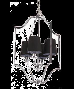 Pakabinamas šviestuvas su keturiais gaubteliais Cosmolight NEW YORK
