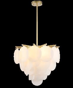 Pakabinamas baltas šviestuvas Cosmolight TROMSO