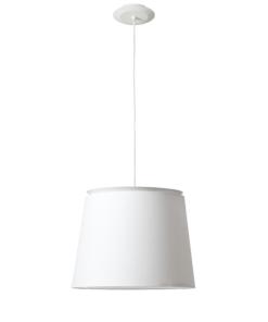 Pakabinamas šviestuvas su tekstilės gaubtu Faro SAVOY