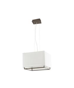 Pakabinamas šviestuvas kvadratiniu gaubtu Faro VESPER-2