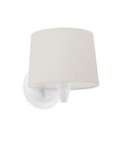 Sieninis šviestuvas su tekstilės gaubtu Faro CONGA