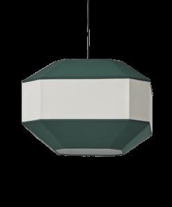 Pakabinamas šviestuvas su tekstilės gaubtu ACB BAUHAUS