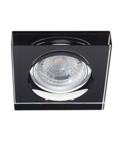 Įleidžiamas kvadratinis stiklinis lubinis šviestuvas Kanlux MORTA