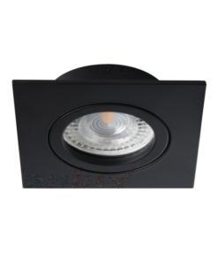 Reguliuojamas įleidžiamas šviestuvas su kvadratine dekoracija Kanlux DALLA