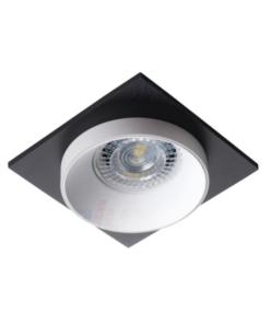 Įleidžiamas lubinis šviestuvas su kvadratine dekoracija Kanlux SIMEN