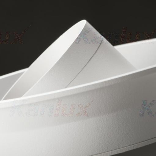 Baltas kryptinis šviestuvas Kanlux LUNIO